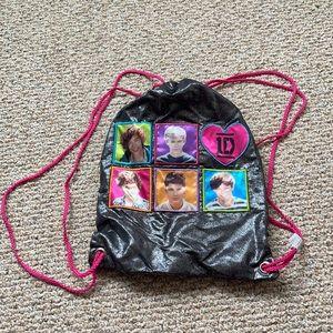 NWOT one direction drawstring bag